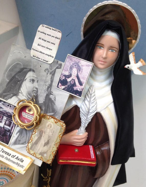 "St. Teresa of Avila 18"" Patroness of Headache Sufferers"