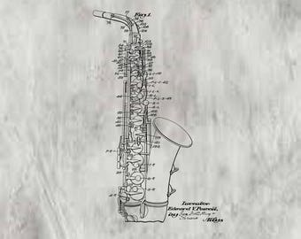 Wind Instrument Patent #2051176 dated August 18, 1936.