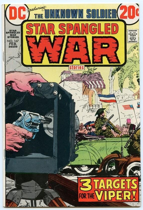 Star Spangled War Stories 167 Feb 1973 FI+ (6.5)