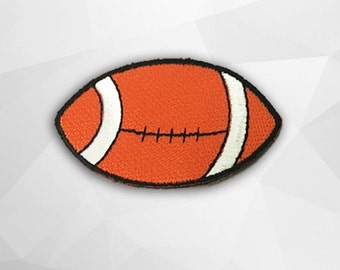 America Football Iron on Patch(M1) - America Football Applique Embroidered Iron on Patch  Size 6.7x3.9 cm