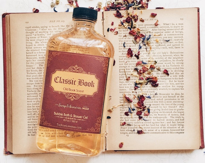 Featured listing image: Classic Book Bubble Bath & Shower Gel
