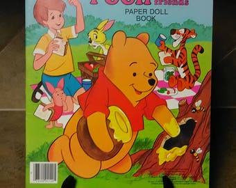 Walt Disney's Winnie-the-Pooh and Friends Paper Doll Book  A Whitman Book