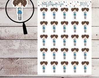 Take Out Character Planner Sticker for all Planners