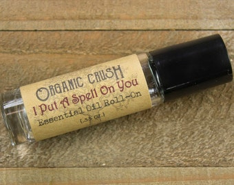 I Put A Spell On You Essential Oil Roll-on | Aphrodisiac Oils | Sensual Oils | Aphrodisiac Essential Oils | Aphrodisiac Roller