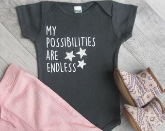 NEW! Organic Infant Onesie, Baby One Piece, Baby Bodysuit, Cute Gender Neutral Baby Gift, Baby boy, Baby girl, Unique Infant outfit