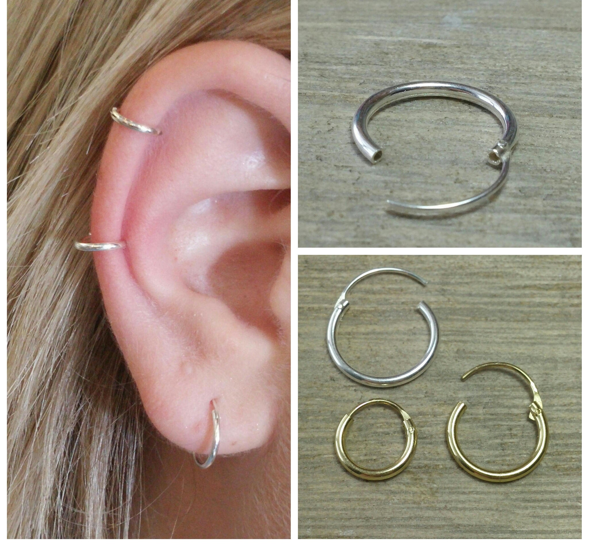 small hooped earrings cartilage hoop small hoop earrings gold hoop earrings 7981