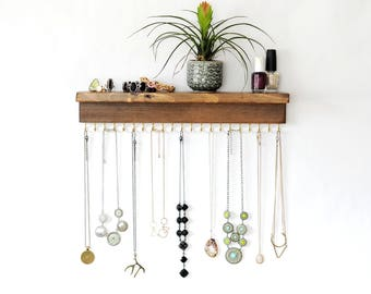 Wall Necklace Holder