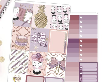 NEW Just a Wish Weekly Planner Sticker Kit for use in Erin Condren Life Planner