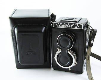 LUBITEL 2 Russian Medium Format TLR Camera