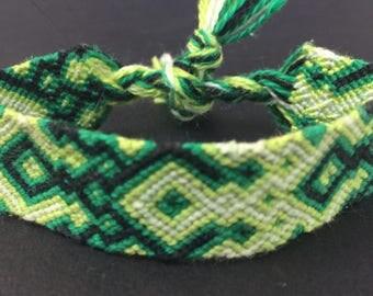 Green Giant Friendship Bracelet