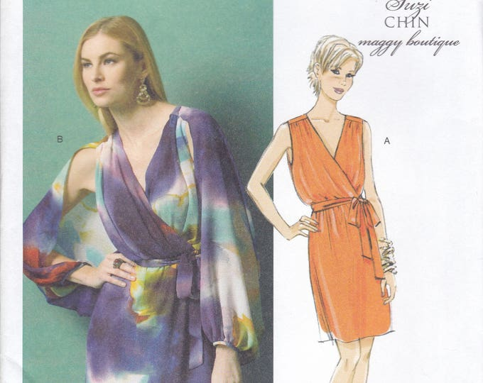 FREE US SHIP Butterick 5884 150th Anniversary Uncut Sewing Pattern Sz 8/16 Size 8 10 12 14 16  Bust 31 32 34 36 38 Uncut Dolman Sleeve Dress