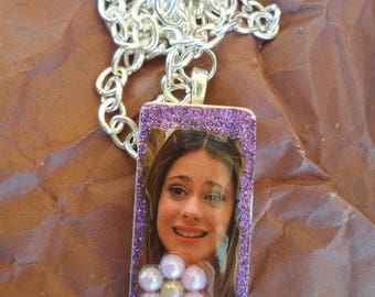 Necklace silver chain Violetta