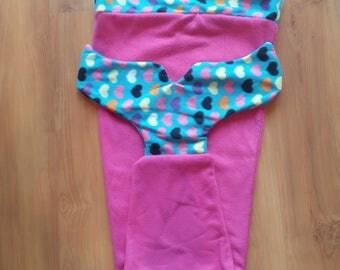CLEARANCE - Medium Mermaid Tail Blanket - cozy fleece blanket for children, teens, adults