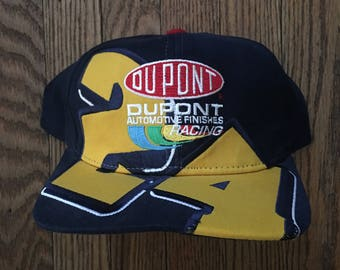 Vintage Jeff Gordon #24 Nascar Racing Snapback Hat Baseball Cap