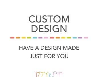 Custom Invitation Design - Custom Made Invitation - Printable Party Supplies
