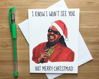 Funny Stevie Christmas Card, Inappropriate Christmas Humor, Christmas Gift, Funny Christmas Card, Santa, Internet Memes, Merry Christmas