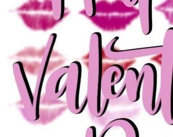 Valentines  Day Card-digital download