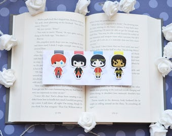 A darker shade of magic magnetic bookmark