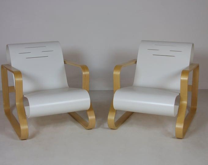 Mid Century Modern ALVAR AALTO Paimio SCROLL Chairs