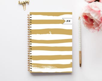 Diary 2018 -  Planner 2018 - Weekly Planner - Custom Planner - Journal - Planner - Gift for her - teacher Planner