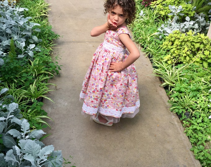 Ready to ship size 2 Flower Girl Dress