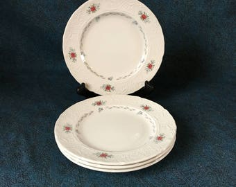 Vintage Johnson Brothers Caroline Salad Plates, Set of 4