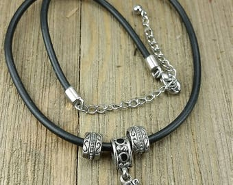 Vintage Medieval Cross Necklace