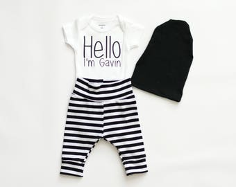 personalized boy baby shower gift, baby boy coming home outfit, baby boy clothes, boy bodysuit, personalized bodysuit, shirt, new baby gift