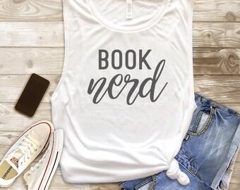 Book Nerd Tank Top