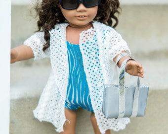 "18"" doll swimsuit or leotard"