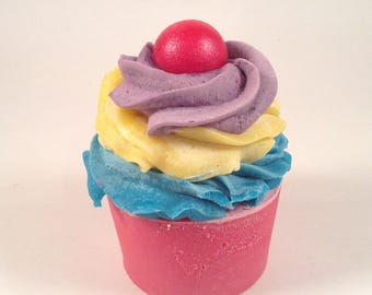 Birthday Surprise Colorful Soap Cupcakes