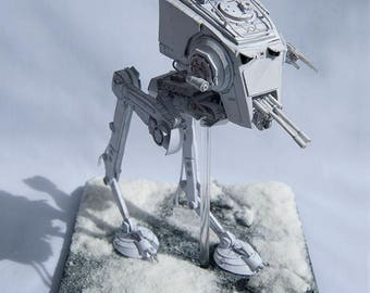 Model of the ship AT-ST from Star Wars