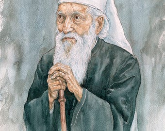 Serbian Patriarch Pavle, Patrijarh srpski Pavle (print)