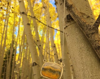Aspen Landscape Necklace