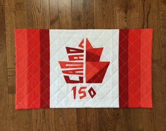 Canada Day Quilted Wallhanging