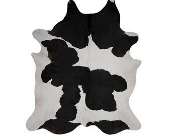 Cowhides - Black and White Cowhide Rug - Handpicked Cowhide
