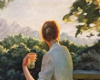Original Painting, Oil painting