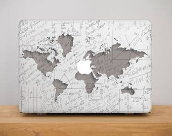 Map Macbook Air 13 Case Hard Marble Case Macbook Pro 13 Case Gift Hard Cover Macbook Pro 13 Hard Case Map Macbook Air 13 Inch Leather PP2141