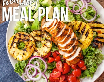 Healthy Meal Plan 2018 eBook | 28 Day Meal Plan PLUS More Than 100 Recipes!