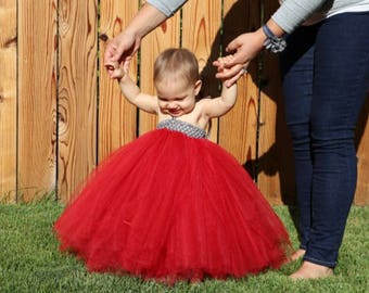 CUSTOMIZED Tutu Dress Sizes Newborn - 5T