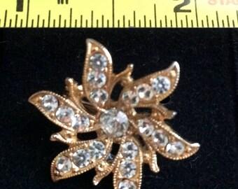 Costume Diamond Brooch