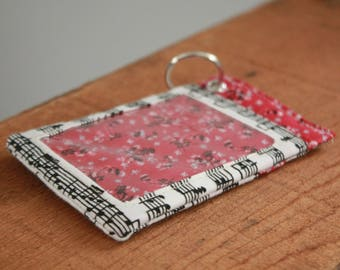 Keychain Wallet Handmade Keychain Card Holder Fashion ID Holder