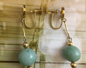 Chinese Screw Back earrings