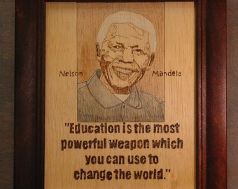 Nelson Mandela  -  The Value of Education