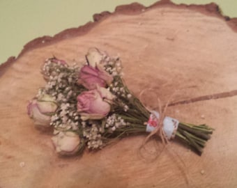 Dried bridal/bridesmaid bouquet