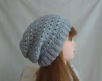 Slouchy Hat, Slouch Hat, Blue Slouch Hat, Powder Blue Slouch Hat, Blue Slouchy Hat, Powder Blue Slouchy Hat, Winter Slouchy Hat, Winter Hat