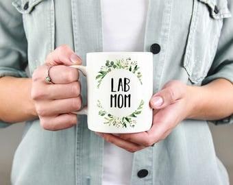 Lab Mom Gift, Labrador Retriever Mom Mug, Dog Mom Mug, Dog Mom, Dog Mug, Dog Breed, Cup, Dog Lover, Dog Gift, Present, Lab, Coffee Mug,Puppy