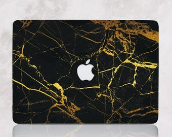 Marble Macbook Pro 13 Hard Case Macbook Case Air 11 Pro Retina 13 Hard Case Laptop Case Black Marble Macbook Pro Retina 15 Cover  mRR_134