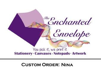 CUSTOM LISTING: Nina, Logo Design, Custom labels, Custom Stickers, Custom Logo, Etsy Shop Banner, Shop Banner Design, Custom Logo Design