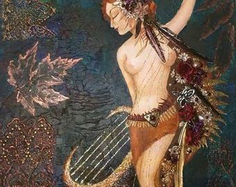 Divine harpist